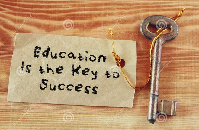 top-view-image-key-note-phrase-education-key-to-success-52095109